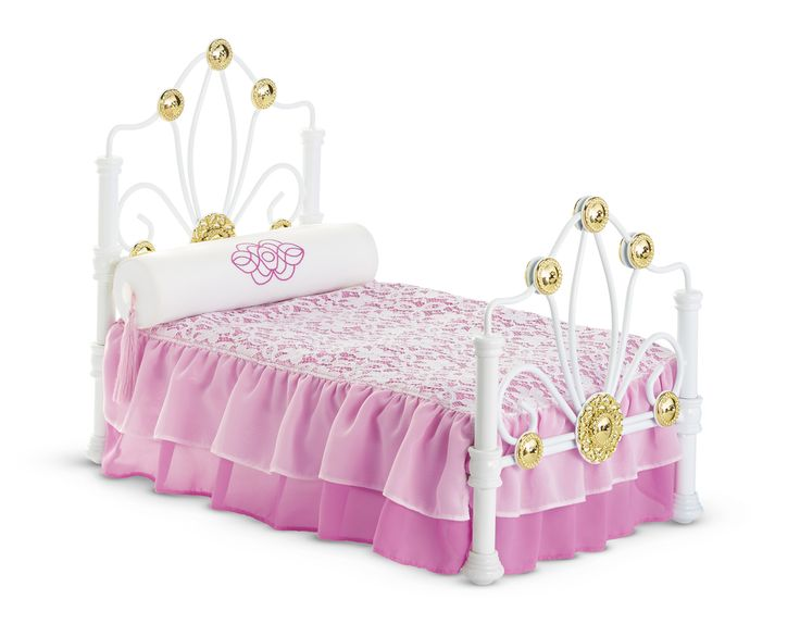 Rebecca's Bed and Bedding