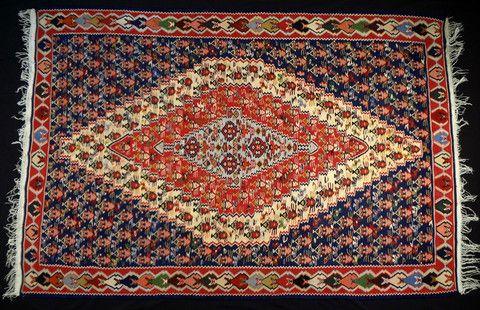 Antique Sennah Kilim (Code: 626 014 0102)