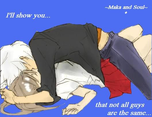 soul and maka   Soul Eater Soul x Maka - I just pinned a different version of this a couple days ago, but the quote made me pin it again.