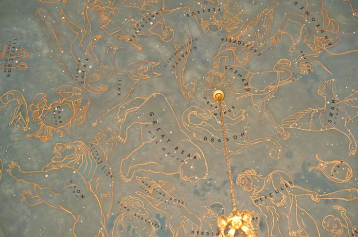 constellations on the ceiling