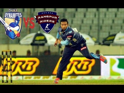 Rangpur Riders vs Dhaka Dynamites 34th Match - Live Cricket Score Commentary Series: Bangladesh Premier League 2016 Venue: Shere Bangla National Stadium Dhaka Date & Time: Nov 30  01:00 PM  LOCAL Commentary Scorecard Highlights Full Commentary Live Blog Points Table Match Facts News Photos DHAKA 188/7 (20.0 Ovs)RGR 146/8 (20.0 Ovs)Dhaka Dynamites won by 42 runsPLAYER OF THE MATCH Evin Lewis That's it from the first game. Don't go too far as another cracker is coming up in less than an hour's…