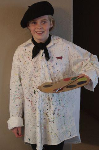 halloween - artist costume