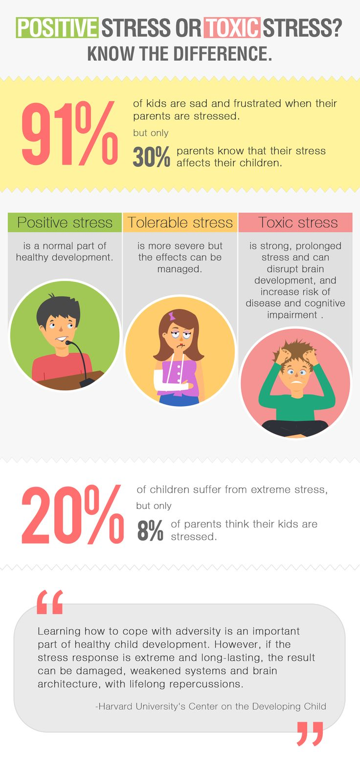 Is your child suffering from toxic stress? Know the signs.  Over 91% of kids say that their parents' stress affects them, but only 30% of parents know it. #stress #kids http://ow.ly/ASj7d