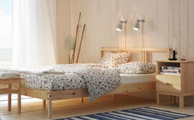 This is my bed frame I want. XD Cover yourself in country charm with the ALVINE ÖRTER duvet set.