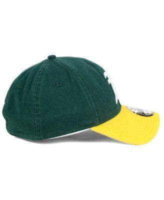 New Era Oakland Athletics Relaxed 2Tone 9TWENTY Strapback Cap - Green Adjustable