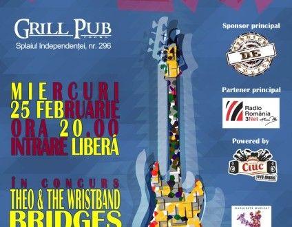 Rock Frate cu The Purple Dandies, Bridges și Theo and The Wristband » Jurnal Rock