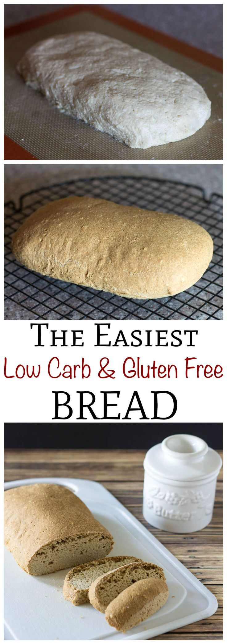 Sukrin Oat Sesame Bread Mix makes the easiest gluten free low carb bread ever! All you need are the mix and water. Just mix ingredients, shape, and bake!