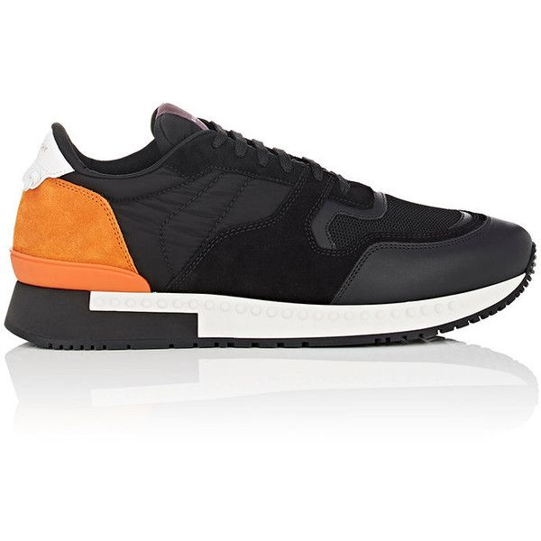 Givenchy Men's Runner Active Sneakers ($650) ❤ liked on Polyvore featuring men's fashion, men's shoes, men's sneakers, mens lace up shoes, mens low tops, mens metallic gold sneakers, givenchy mens shoes and givenchy mens sneakers