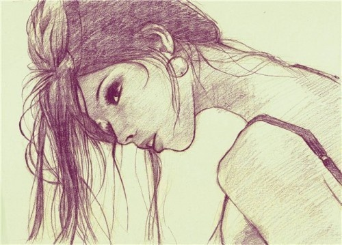 : Sketch, Make Art, Drawings Hair, Hair Art, The Artists, Girls Generation, Art Inspiration, Illustration, Pencil Drawings