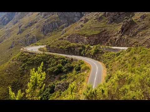 Franschhoek Pass (R45) - Mountain Passes of South Africa - YouTube