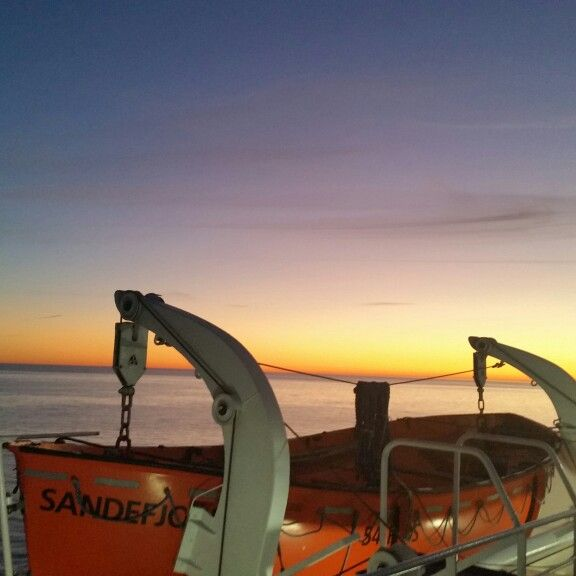 From Sweden to Norway by boat. Sandefjord,  Vestfold