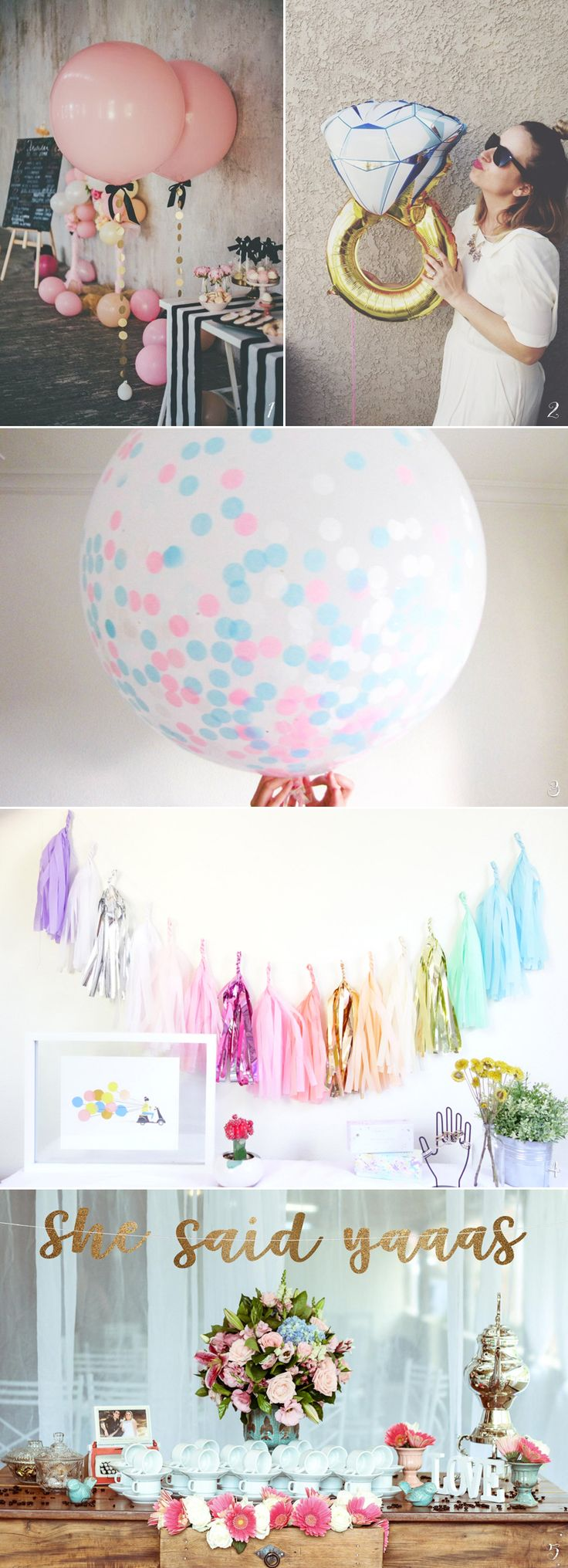30 Creative Things You Need to Throw an Awesome Bridal Shower!