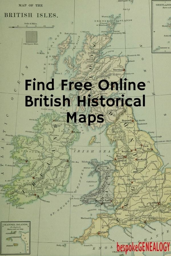 How to find free historical UK maps