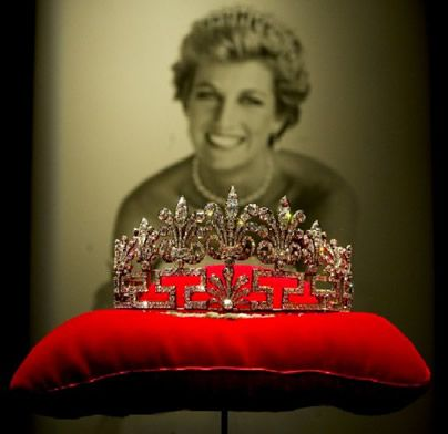 The Spencer family diadem (never worn by Diana in public)
