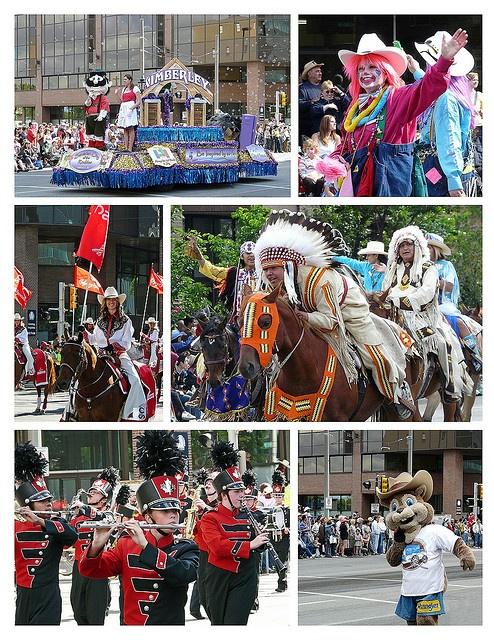 2009 Calgary Stampede Parade, via Flickr.