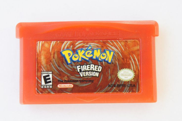 Pokémon: FireRed Version Nintendo Game Boy Advance TESTED HOLDING SAVES