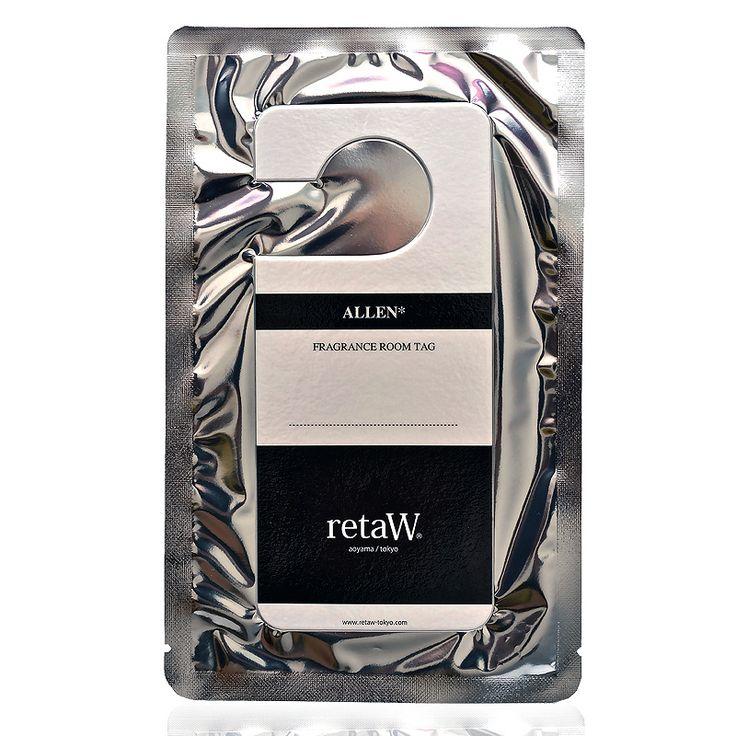 Allen Fragrance Room Tag by retaW