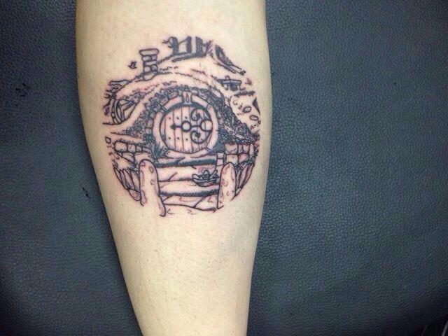 Hobbit tattoo
