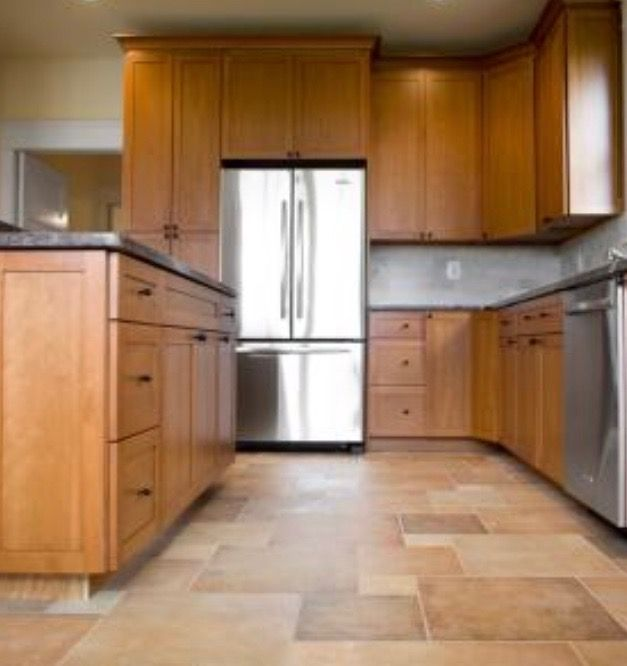 What Paint Color Goes With Honey Oak Cabinets Large Size: 44 Best Honey Oak Cabinets And Floors Images On Pinterest