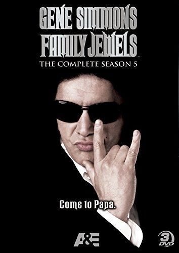 GENE SIMMONS FAMILY JEWELS COMPLETE SEASON 5 New Sealed 3 DVD Set