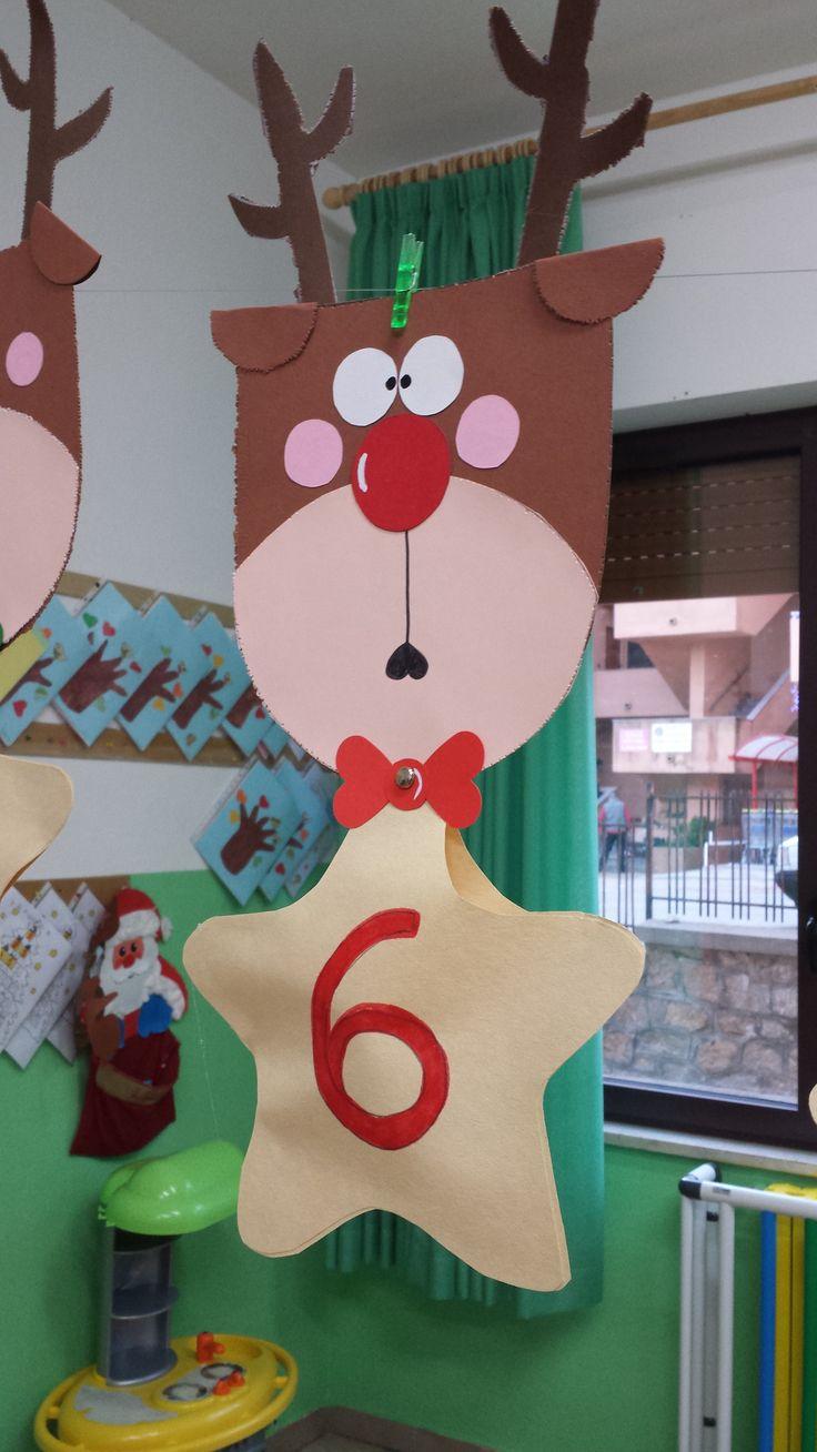 DIY Advent Calendar Christmas Art Project for kids