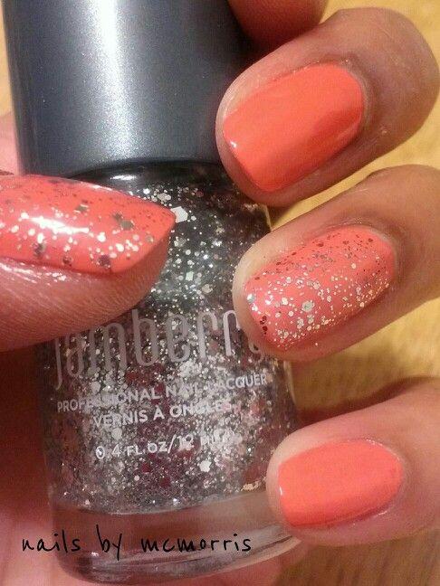 #jamberry #lacquer #coralreefjn #lovestruckjn #naturalnails