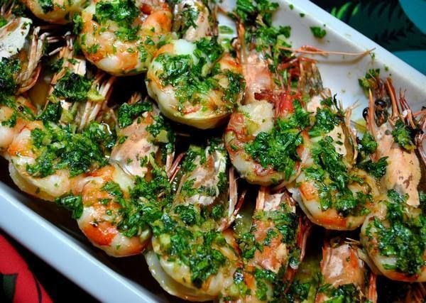 - Shrimps with olive oil and garlic, Monastic Recipe - Category: Mediterranean Diet, Monastic Recipes of Mount Athos. Serves: 2, Preparation time: 25min, Level: Easy