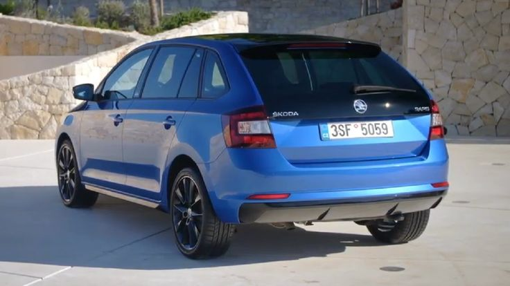 FIRST LOOK: 2017 Skoda Rapid Spaceback Monte Carlo
