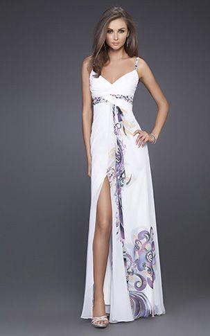 Prom dresses cheap white sheets