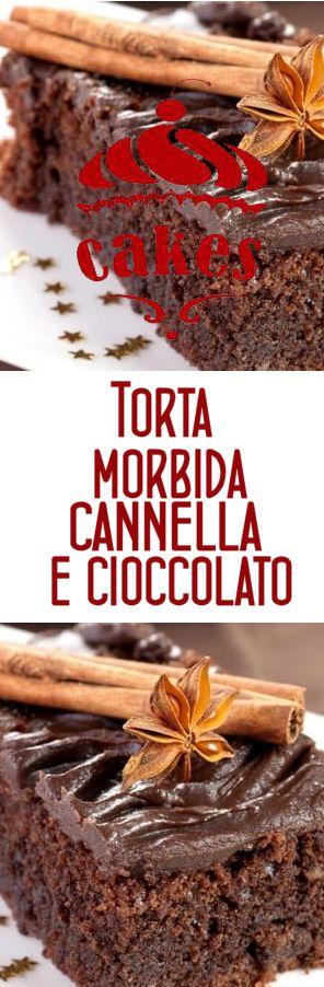 """Ricetta torta morbida alla cannella e cioccolato - Le ricette di CucinaToday """"torta morbida alla cannella e al cioccolato """""""