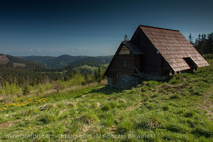 Mountain hut in Low Tatras #Slovakia www.simplycarpathians.com