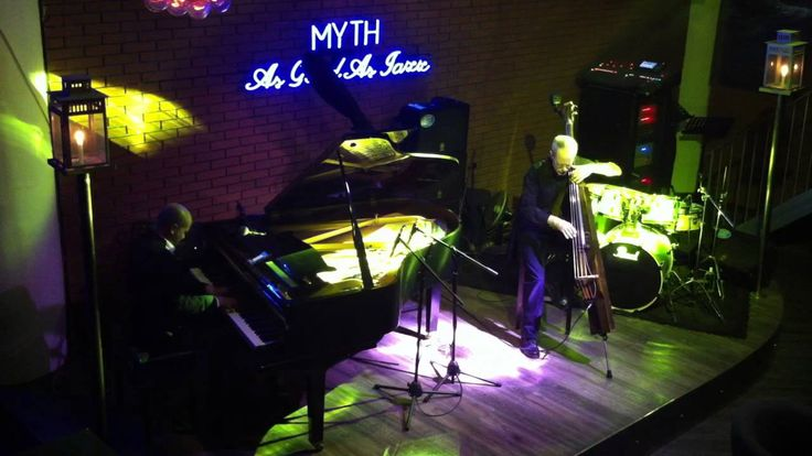 """Bluesette   Ralston Van Der Schyff (piano) and Brian Hurley (bass) performing """"Bluesette""""...recorded live at Myth Jazz Bar in Nanjing China"""