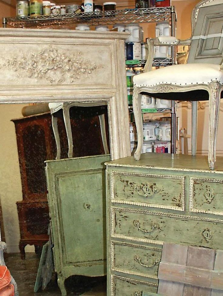 Love The Green. Distressed FurniturePainted ...