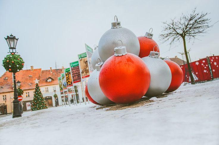 Wielki świąteczny hit – bombki XXL - Inspirowani Naturą | christmas decor for cities TerraChristmas