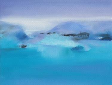 "Saatchi Art Artist Marta Zamarska; Painting, ""Winter Postcard 8"" #art"