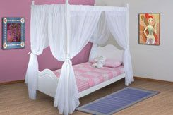 Princess 4 Poster Bed