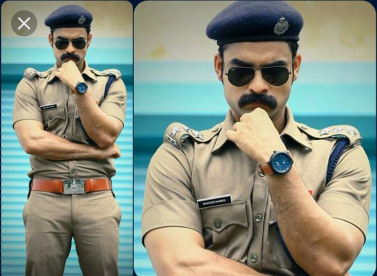 Another new complete different look from man with many faces, Tovino Thomas. As a cop in the new movie, we can expect some real action