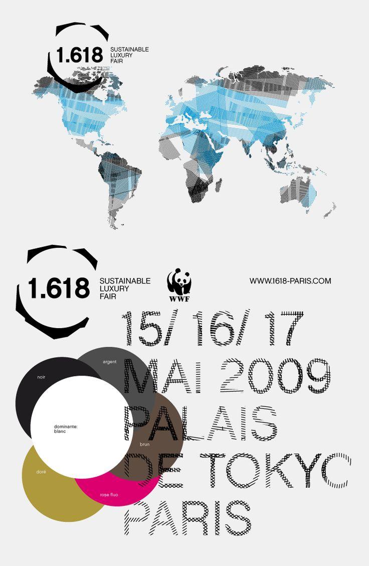 Trafik - graphic design, web site, multi-media, scenography, exhibitions / 1.618   Identité