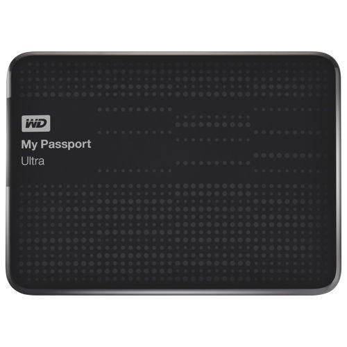 WD My Passport Ultra 1TB External USB 3.0 Hard Drive (WDBZFP0010BBK-NESN)