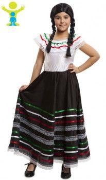Disfraz de Mejicana Adelita para niña