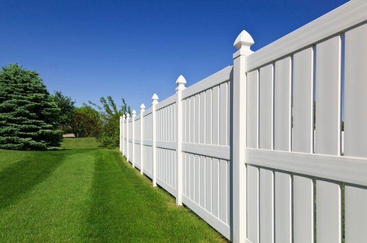 Vinyl Fence Decor