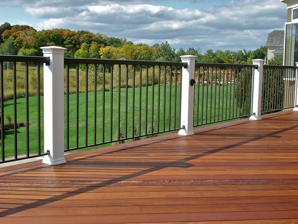 deck railing | ... , and you will see that your deck railing options are nearly endless