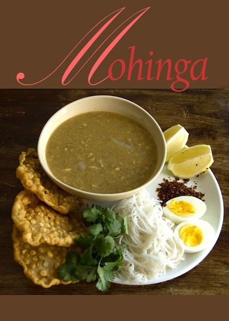 Authentic Burmese fish soup (Mohinga) | BestOodles - Authentic easy Burmese recipes