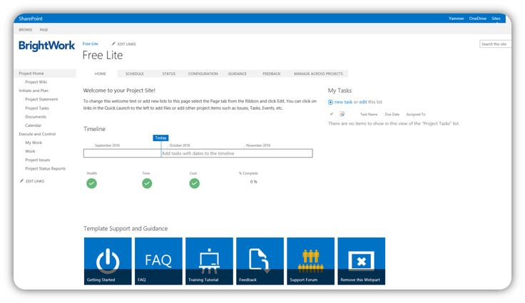 Two Free Sharepoint Project Management Templates  Lite And