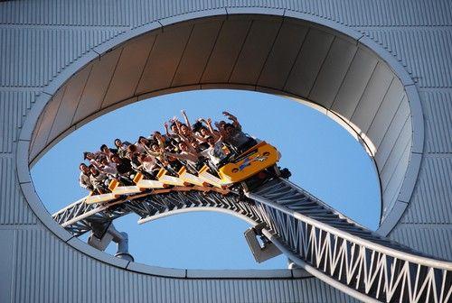 As 12 Montanhas Russas Mais Loucas do Japão Thunder Dolphin Tokyo Dome City (Tóquio)