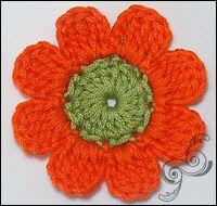 TEJER GANCHILLO CROCHET: Cómo hacer flores a ganchillo o crochet de forma f...