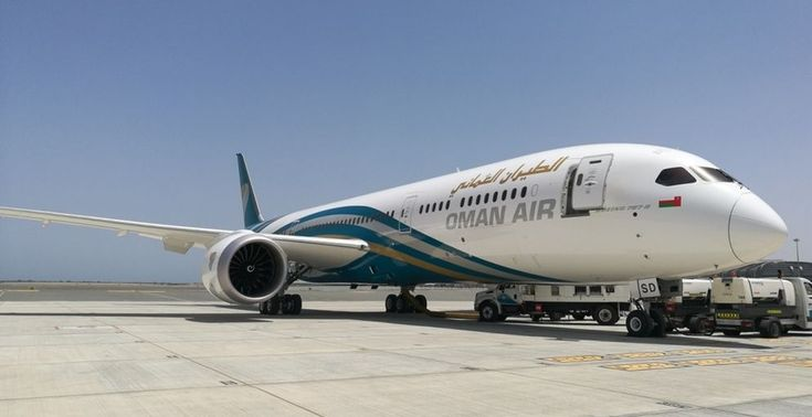 Oman Air Welcomes New Boeing B787-9 to Fleet.