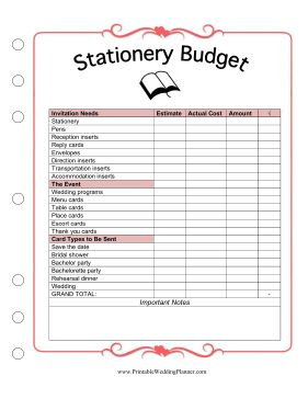 stationery might not seem like the biggest expense when planning a wedding but the cost