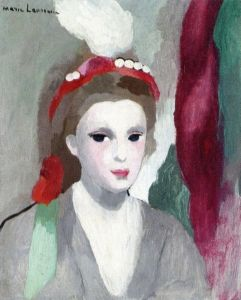 Portrait of a Woman - Marie Laurencin - The Athenaeum