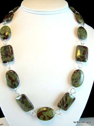 Dragon Blood Matching Set-Necklace, Bracelet and Earrings | byBrendaElaine - Jewelry on ArtFire